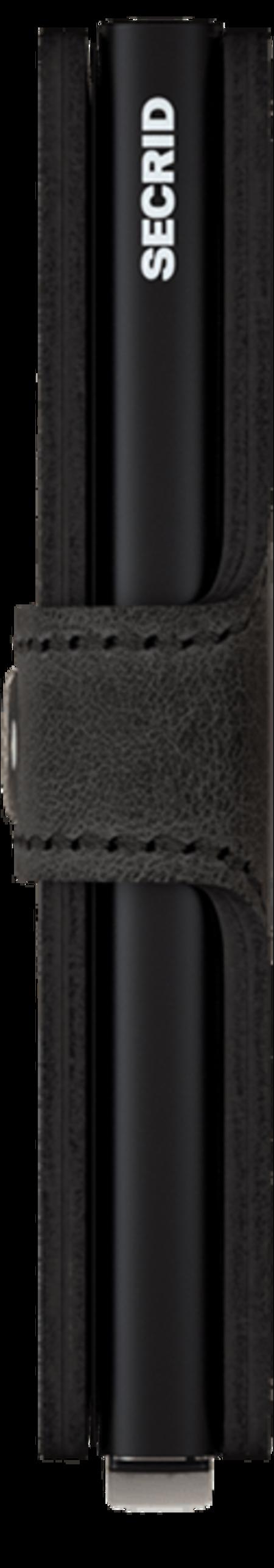 Unisex Secrid Mini Wallet - Vintage Black