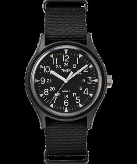 Timex MK1 Aluminum 40mm Fabric Watch - Black