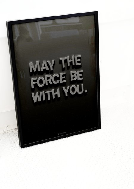PETEK DESIGN May the Force Be With You Print