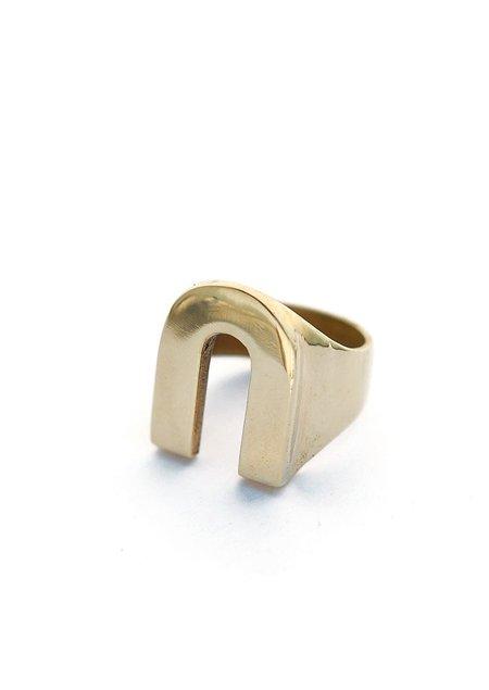 Tiro Tiro Vos Ring - Brass