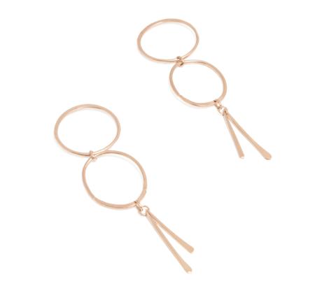 Desert Rose Boulder Earrings