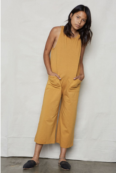 Backbeat Rags Everyday Playsuit - Golden