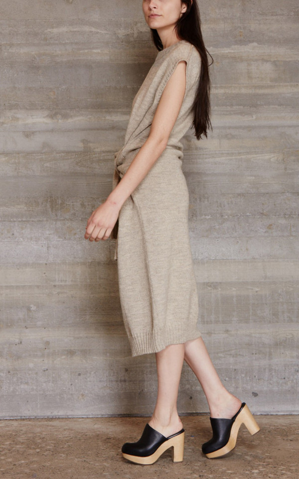 RACHEL COMEY WAIST TIE DRESS