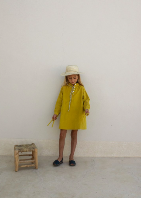 Kids Yoli & Otis Cleo Dress - Lisbon
