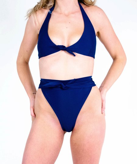 The Saltwater Collective Alice Top - Navy