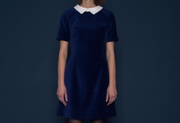 Amanda Moss L'Anse Amour Dress (Royal Blue)