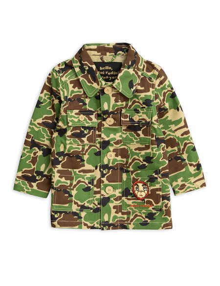 2c59fbe15 Kids Mini Rodini Camo Safari Jacket Kids Mini Rodini Camo Safari Jacket