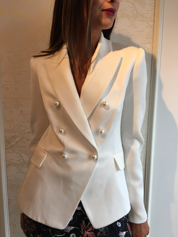 Camilla and Marc 'Past Love' Satin crepe blazer