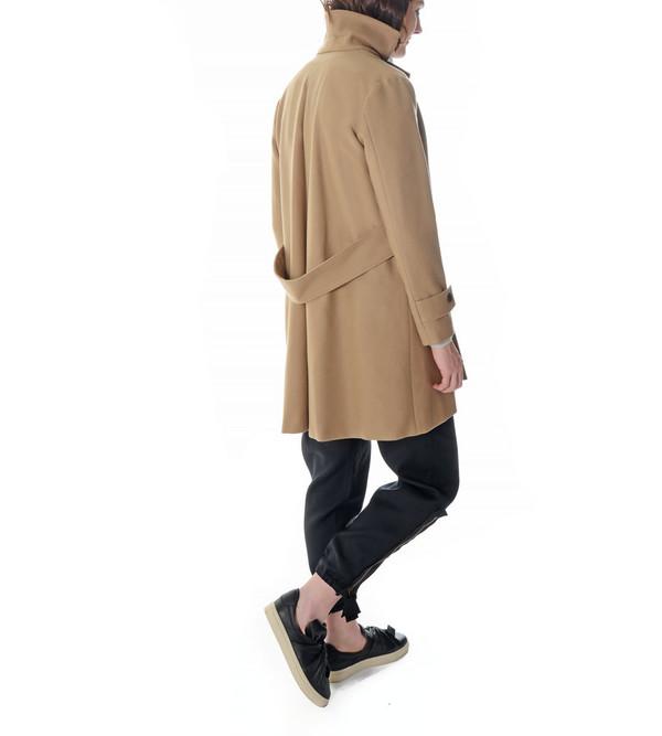 08sircus Camel Wool Peacoat