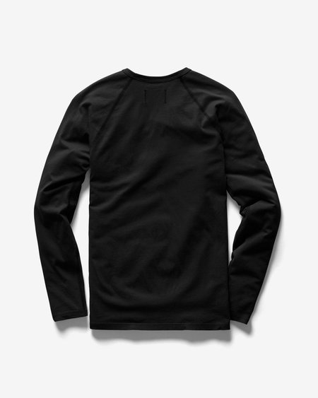 Reigning Champ Long Sleeve Tee - Black