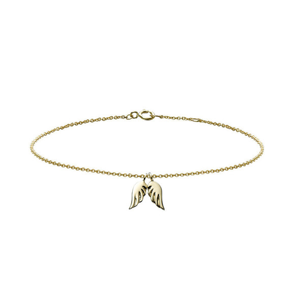 Minor Obsessions ANGEL WINGS CHARM BRACELET