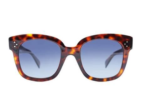 Celine 40002U Sunglasses - TORTOISE POLARISED