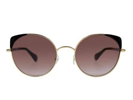 WOOW eyewear Super Fine 1 Sunglasses - GOLD/BLACK