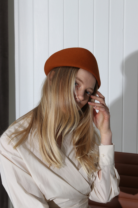CLYDE SAZY HAT - RUST
