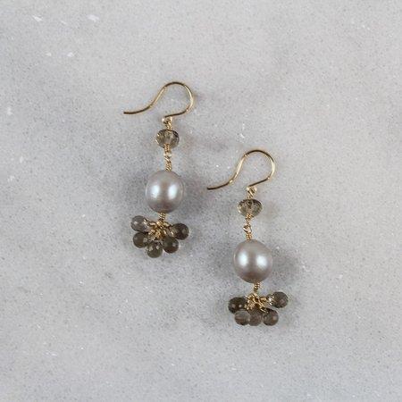 Dana Kellin Smokey Pearl Earrings