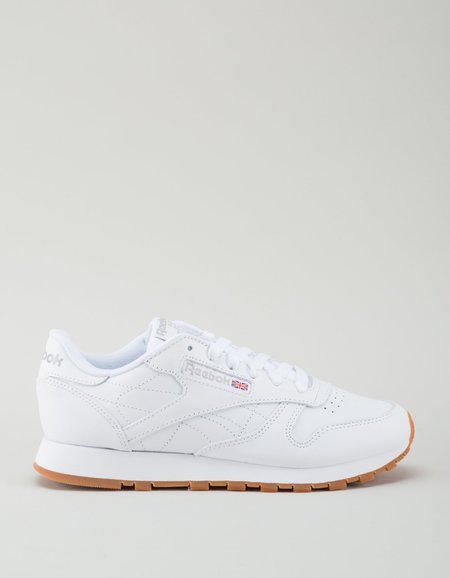 Reebok Classic Leather Sneakers - White/Gum
