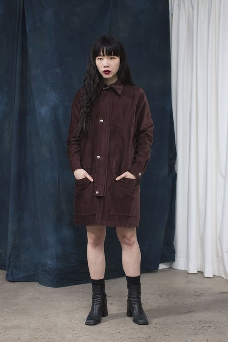 Backtalk PDX Winsome Henri Jacket/Dress - Rich Merlot