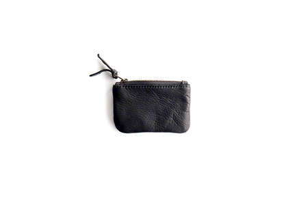 Primecut BLACK LEATHER SMALL POUCH