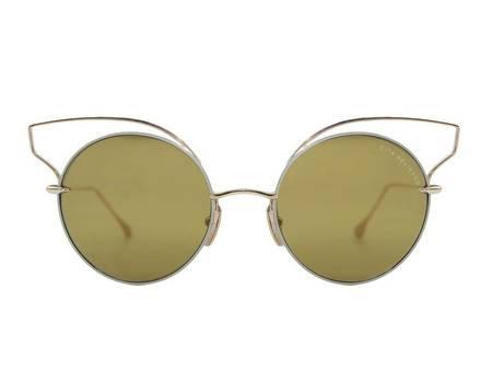 DITA Believer Glasses - TAN/12K GOLD