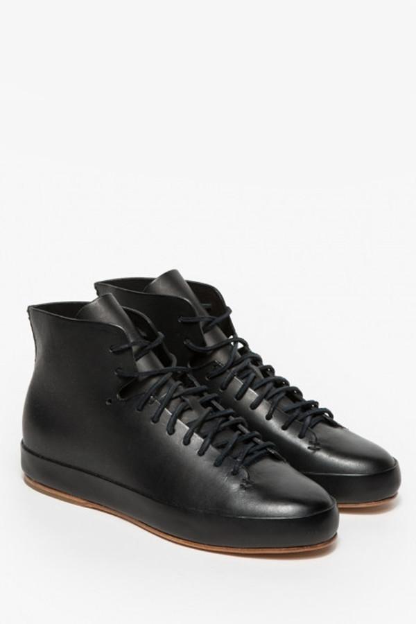 FEIT Hand Sewn Black Leather Shoe