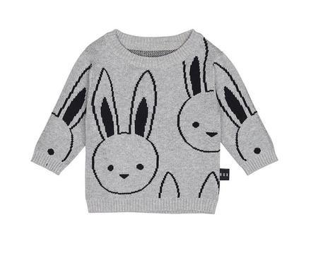 Kids Huxbaby Bunny Knit Jumper