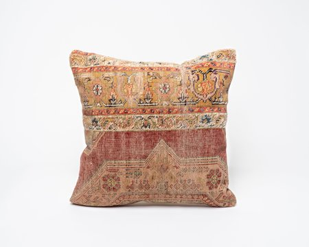 Collected by Wynne Ware Vintage Colorful Antique Turkish Kilim Pillow Cover