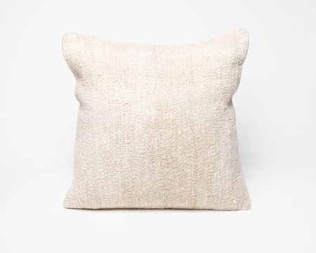 Collected by Wynne Ware Large Antique Turkish Natural Hemp Pillow Cover