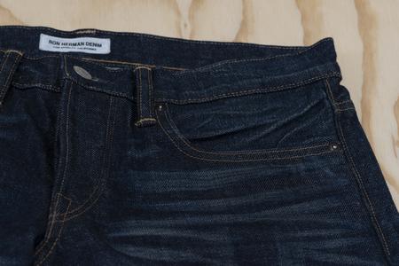 RON HERMAN Huron Denim Jeans - Indigo