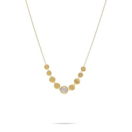 Marco Bicego Jaipur 18K Yellow Gold Diamond Necklace