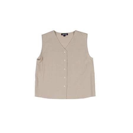 Ilana Kohn Audrey Shirt in Oat Cotton