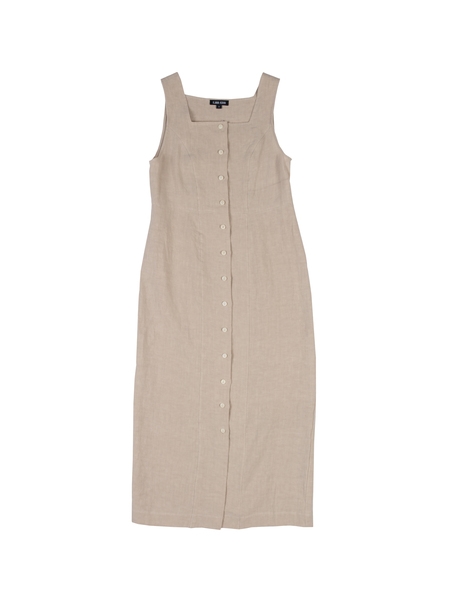 Ilana Kohn Ginny Dress in Oat Linen