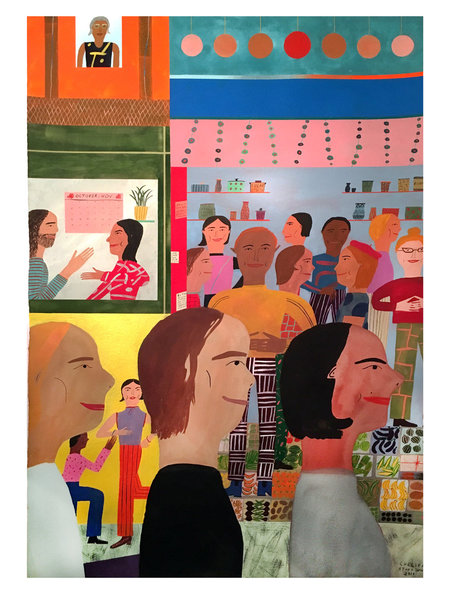 "Chelsea Wong ""Triple Decker Chinatown"""