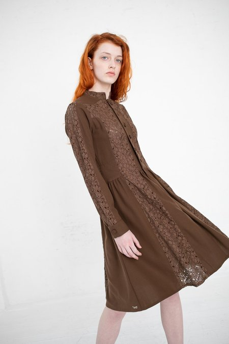 Visvim Lace Dress - Brown