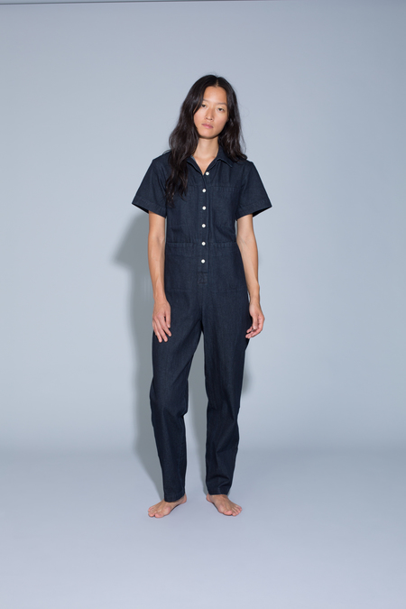 Ilana Kohn Tia Coverall in Denim