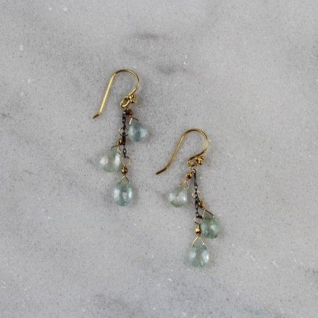 Robindira Unsworth Aquamarine Cascade Earrings