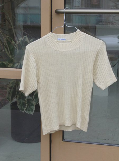 Association Vintage knit Top - Cream