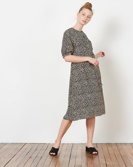 A.P.C. Ondine Dress - Leopard Print