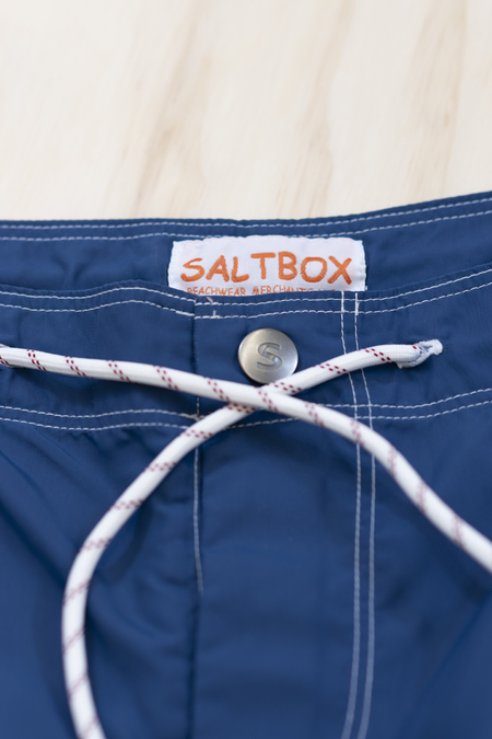 Saltbox Harbor Boardshort - Blue