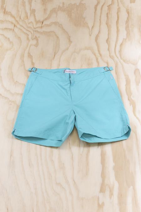 Orlebar Brown Bulldog Mid Length Swim Shorts - Splash