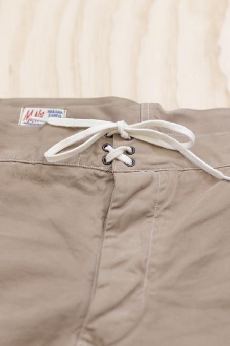 M.Nii Koa Khaki Makaha Shorts