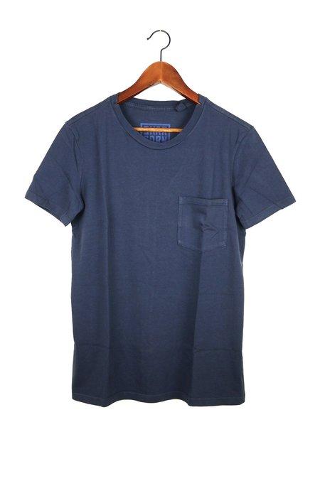 Skargorn #49 Short Sleeve Tee - Indigo Wash