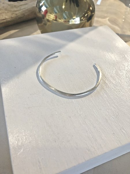 Leandra Hill Metalworks Hammered Cuff - Sterling Silver