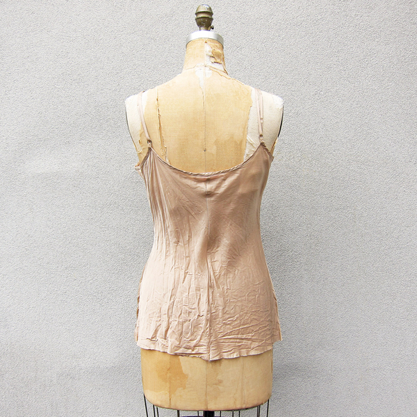 Organic by John Patrick bias cami - wheat
