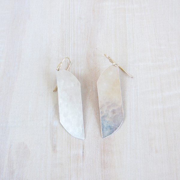 Christine Fail large shale earrings