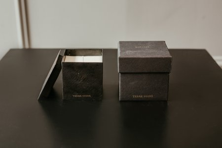 Mad et Len Candle Black Block Small