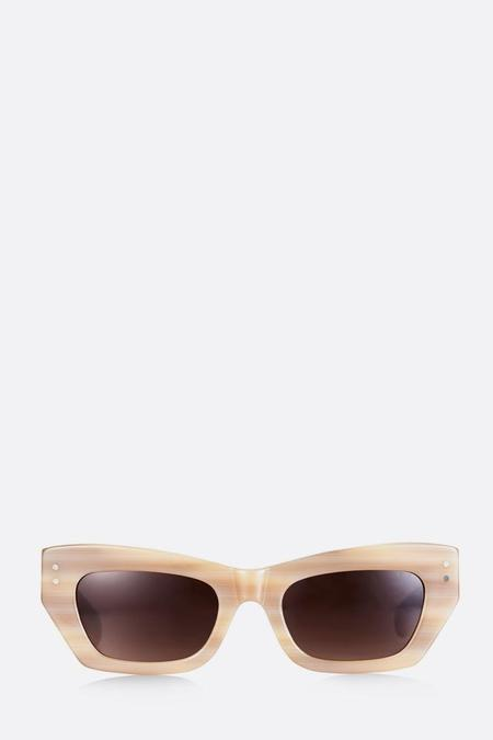 Pared Petite Amour Sunglasses - Cream Tortoise