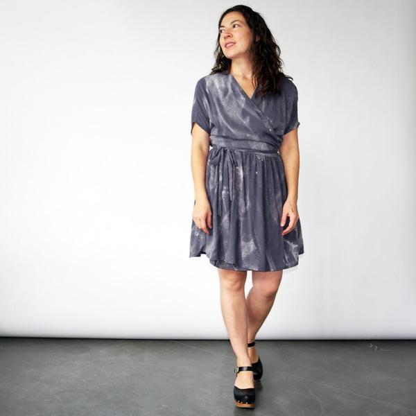 3rd Season Axis Wrap Dress