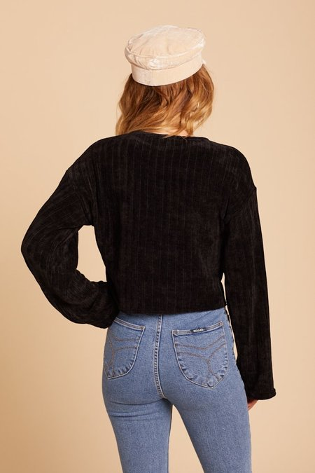Wild Honey Aspen Sweater - Black