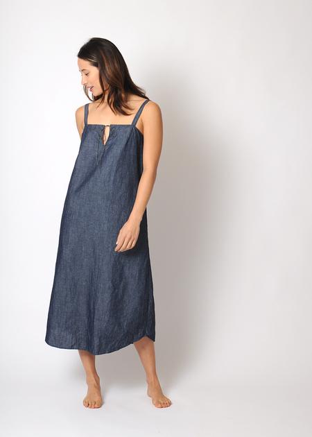 Conifer Ray Dress - Chambray
