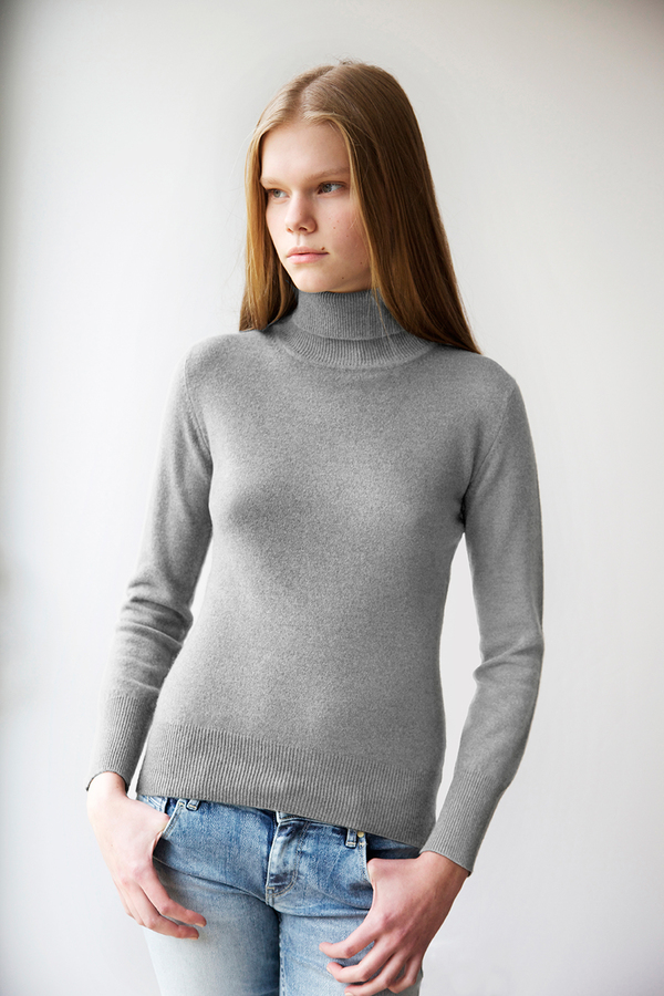 Homespun Cashmere - Filly Roll Neck